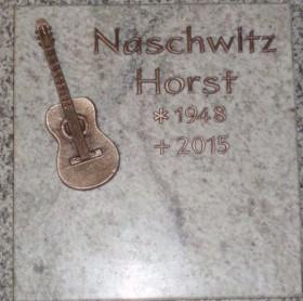 Bronze Inschrift & Ornament