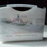 Quartzkomposit Pflegekoffer
