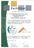 Zertifikat Leichter Leben gültig bis 31.03.2020